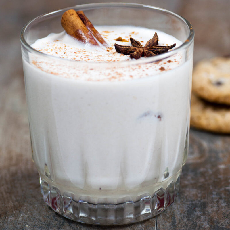 Easy Homemade Vegan Dairy Free Eggnog