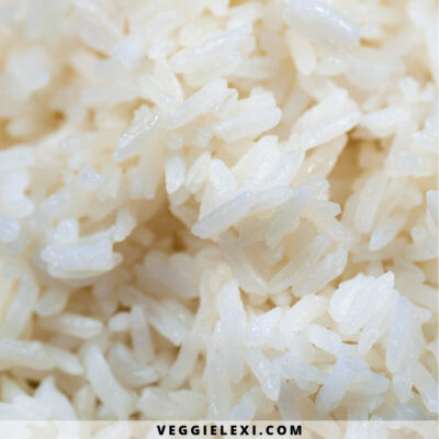 Perfect Vegan Buttery Fluffy Rice - by Veggie Lexi